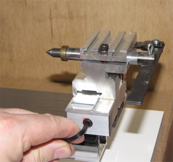 installing drilling tailstock